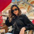 Bruna Biancardi passeou por Paris, na França, com Neymar e amigos do jogador