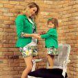 Bianca Castanho contou que a necessidade de criar a MiniBi nasceu da vontade de vestir sua filha com roupas iguais as suas