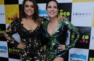 Wanessa e Preta Gil capricham no look sensual para dueto em show no Rio