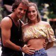 Marcello Novaes e Leticia Spiller fizeram par romântico na novela 'Quatro por Quatro'
