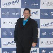 Leandro Hassum, mais magro após bariátrica, lança filme 'Os Caras de Pau' em SP