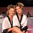 Angels se preparam para o desfile da Victoria's Secret Fashion Show, em 2 de dezembro de 2014
