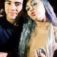 Miley Cyrus usa figurino ousado durante show na festa de abertura da Art Basel, em Miami, nos Estados Unidos