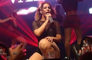 Valesca Popozuda faz show em boate no Rio após cirurgia devido a cálculo renal