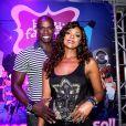 Cris Vianna namora Luiz Roque há mais de um ano: 'Ele é bem parceiro'
