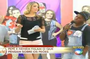 'A Fazenda 7': Ticiane Pinheiro compra briga de Pepê & Neném. 'Nervosa por elas'
