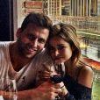 Henri Castelli assume namoro com a colombiana Diana Hernandez
