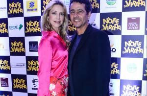 Luana Piovani e Marcos Palmeira prestigiam pré-estreia de filme em São Paulo