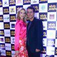 Luana Piovani e Marcos Palmeira participam de pré-estreia de 'Noite da Virada', na quarta-feira, 10 de dezembro de 2014, no shopping Cidade Jardim, em São Paulo
