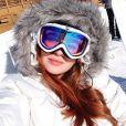 Longe do verão e do calor de janeiro, Marina Ruy Barbosa viajou para visitar o Park City, em Utah, nos Estados Unidos
