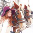 Marina Ruy Barbosa aproveitou muito a viagem e tirou muitas fotos na neve