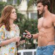 Em outubro, foi o ar a cena em que Marina Ruy Barbosa e Klebber Toledo gravaram a novela 'Império' no Rio de Janeiro. Os dois terminaram o namoro em agosto