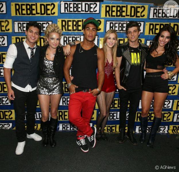 Estreia de 'Rebelde' na TV Record completa dois anos em 21 de março de 2013