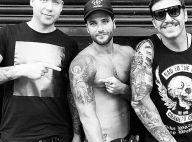 Bruno Gagliasso tatua arcanjo no braço. Confira 13 desenhos no corpo do ator!