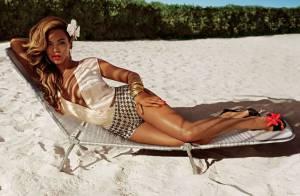 Beyoncé posa nas Bahamas como nova garota-propaganda de marca