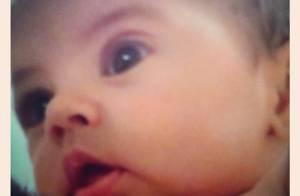 Shakira publica foto do rostinho do filho, Milan, que completa 2 meses