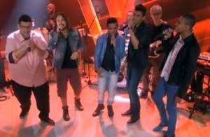 Finalistas do 'The Voice Brasil' cantam juntos no 'Fantástico'
