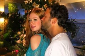 Marina Ruy Barbosa posta foto com o namorado em clima de Natal e divide opiniões