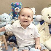 Ana Hickmann festeja 10 meses do filho, Alexandre   Festa dos ursos  aafa913526