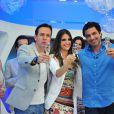 Antes, o 'Hoje em Dia' era apresentado por Chris Flores, Celso Zucatelli e Edu Guedes