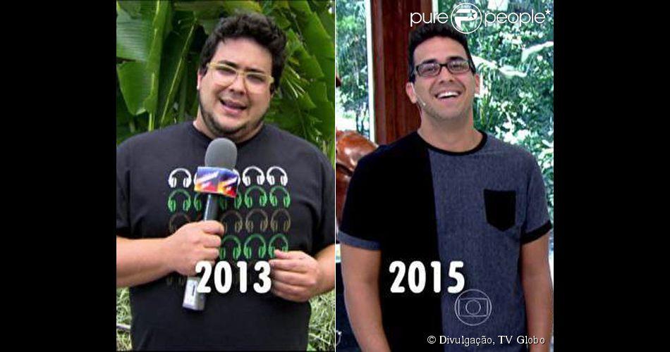 Resultado de imagem para faustão gordo e magro