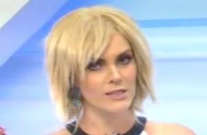 Ana Hickmann apresenta o programa 'Hoje em dia' usando peruca