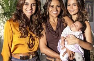 'Salve Jorge': Policial assume maternidade da filha de Morena (Nanda Costa)