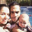 Zion, primeiro filho de Micael Borges, completa 1 ano nesta sexta-feira, 30 de janeiro de 2015