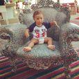 Zion, primeiro filho de Micael Borges, completa 1 ano nesta sexta-feira, 30 de janeiro de 2015. Parabéns!
