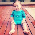 Zion, primeiro filho de Micael Borges, completa 1 ano nesta sexta-feira (30). Parabéns!