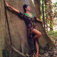 Juliana Paes está na cidade de Itacoatiara (AM) para gravar a série 'Dois Irmãos'