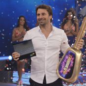 Murilo Rosa vence Fernanda Vasconcellos na final do 'Truque VIP' no Faustão