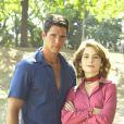 Em 2002, Márcio Garcia e Cláudia Abreu foram os protagonistas da novela 'Celebridades'