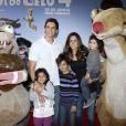 Márcio Garcia tem três filhos com Andréa Santa Rosa, Pedro, Nina e Felipe