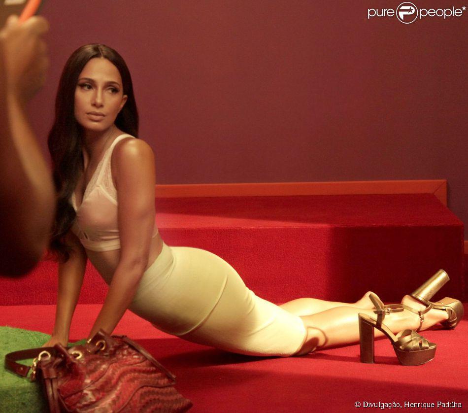 Fotos De Camila Pitanga Nua camila pitanga, protagonista de 'babilônia', posa sensual e