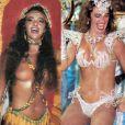 Luma cobriu os seios apenas com os cabelos no Carnaval de 1990 ao desfilar pela Caprichosos de Pilares. Cinco anos depois, desfilou com um biquíni cavado pela escola de samba Tradição