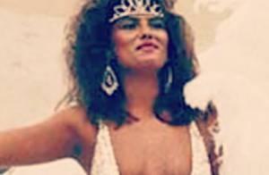 Luiza Brunet relembra Carnaval de 1983 com foto de maiô decotado e cavado