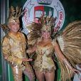 Susana Vieira e David Brazil usam fantasia de R$ 60 mil em desfile da Grande Rio