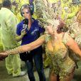 Susana Vieira brilha como rainha de bateria da Grande Rio no Carnaval 2015