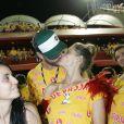 No Carnaval de 2013, Rodrigo Hilbert e Fernada Lima deixaram os pequenos em casa e foram assistir aos desfiles do Grupo Especial em um camarote
