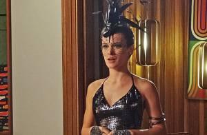 Novela 'Boogie Oogie': Vitória provoca Carlota com fantasia de corvo no baile