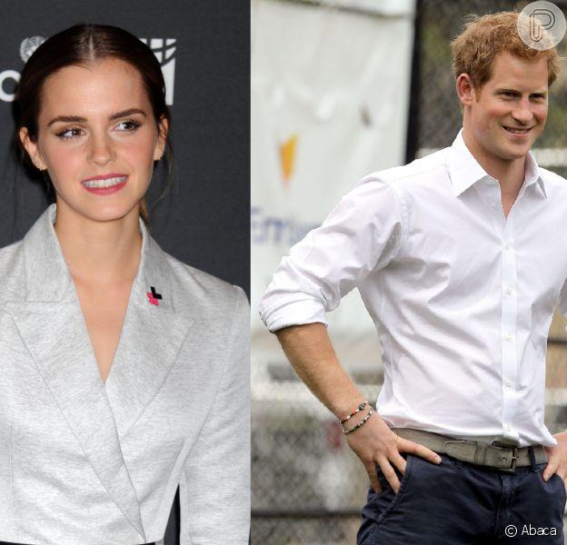 Emma Watson está namorando principe Harry