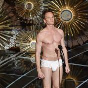 Oscar 2015: Neil Patrick Harris fica de cueca no palco em paródia de 'Birdman'
