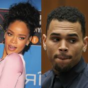 Chris Brown não dá parabéns para Rihanna por causa da namorada: 'Ela me bateria'