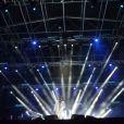 A estrutura do show de Roberto Carlos demorou seis dias para ser montada, com direito a fogos de artifício