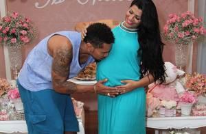 Nasce primeira filha de Naldo Benny e Ellen Cardoso, Maria Victoria, no Rio