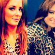 A apresentadora Ticiane Pinheiro gosta bastante de animal print. Ela já postou duas vezes fotos em seu Instagram com blusas sociais com estampa de onça