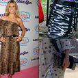 A apresentadora Heidi Klum adora um animal print, tanto em peças de roupa, quanto em suas bolsas
