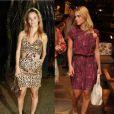 No guarda-roupa de Carolina Dieckmann é fácil encontrar peças de animal print. A atriz já foi vista com um vestido de onça e em outra ocasião com estampa de cobra rosa