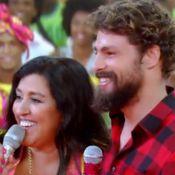 a1187c32266 Regina Casé é surpreendida por Cauã Reymond no  Esquenta    É ...